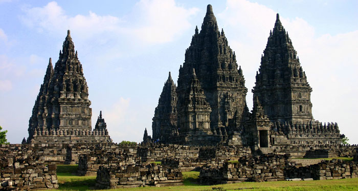 prambanan temple in Java, Indonesia