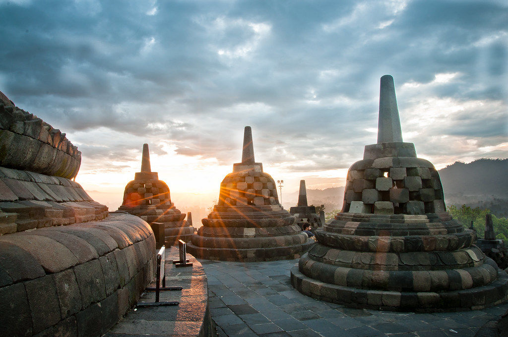 Borobudur Temple, one of best places to visit in Java