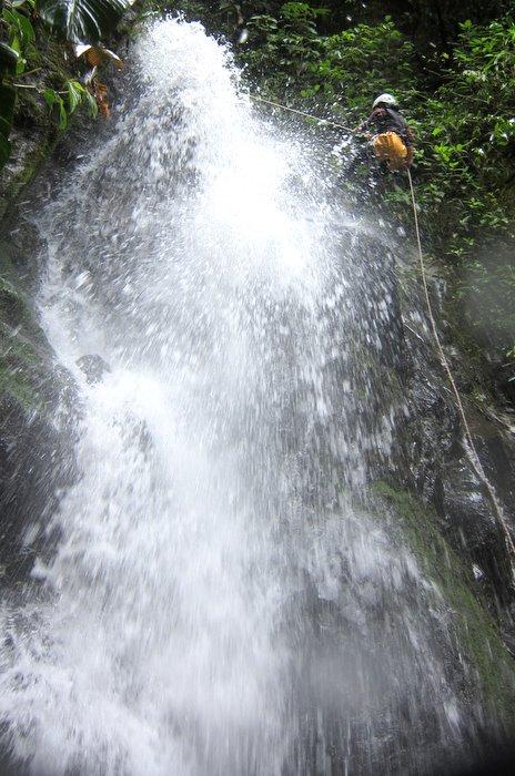 Canyoning Rio Blanco, Banos