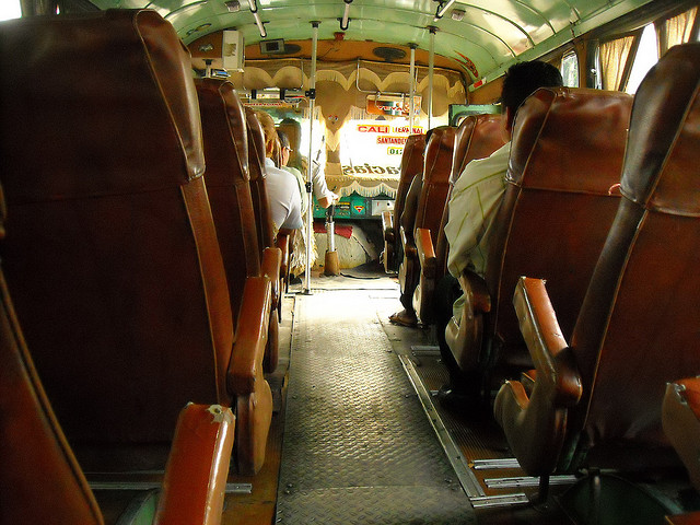 Bus travel in Colombia