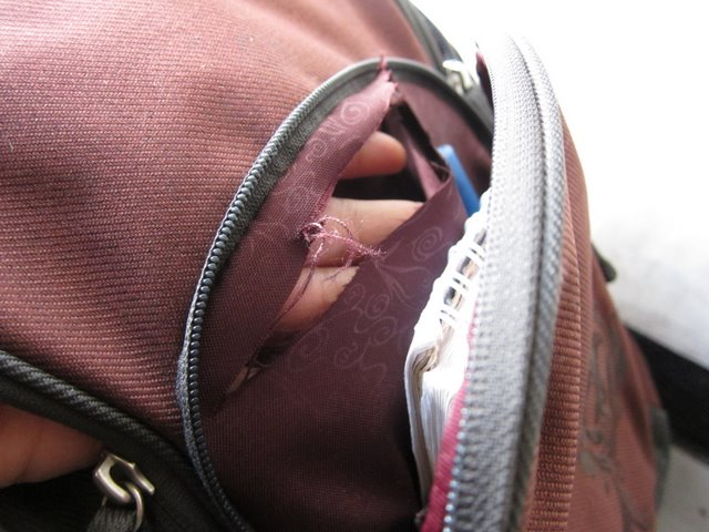 Bag slasher, Ethiopia