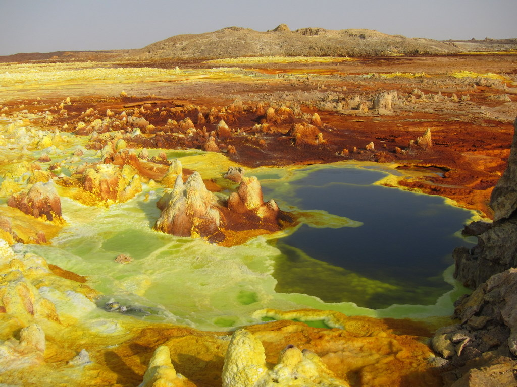 The colorful Dallol, Danakil