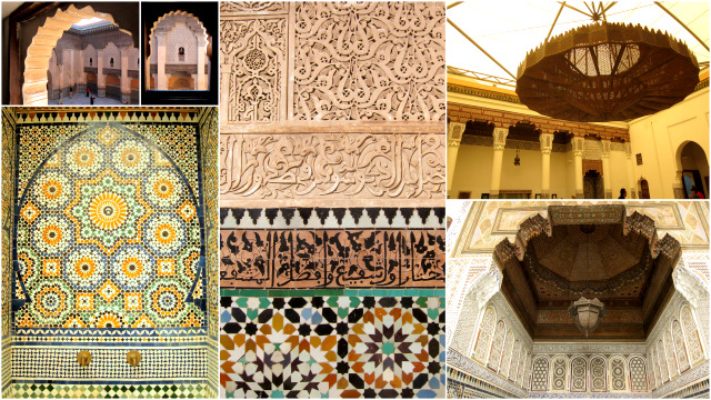 Details of Marrakech, Morocco