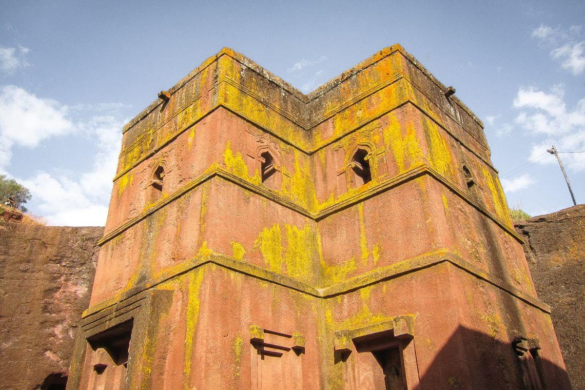 Lalibela rock church