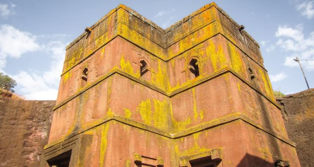 Lalibela rock church
