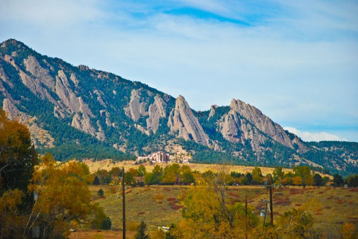 A View Towards Boulder, Colorado