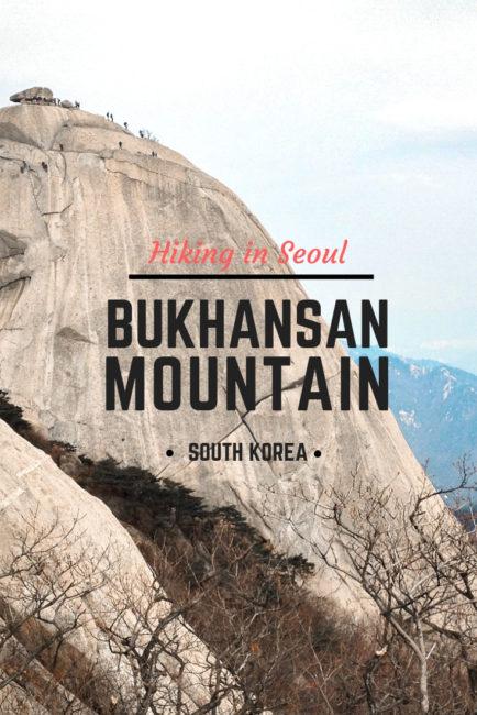 Hiking Bukhansan Mountain Seoul