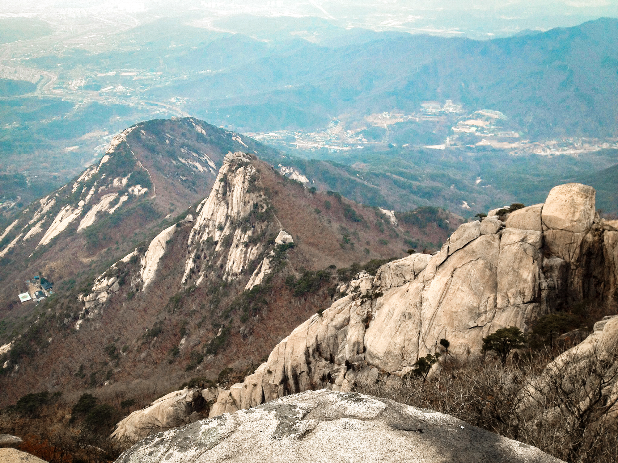 Bukhansan Mountain