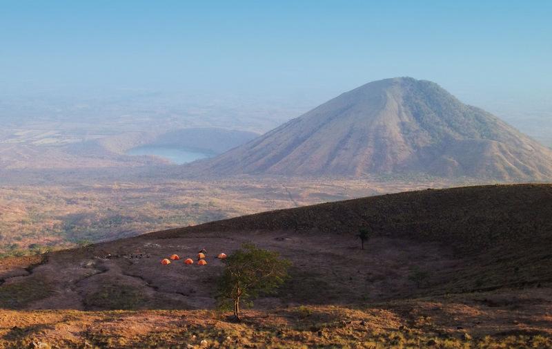 El Hoyo Trek campsite, Leon, Nicaragua