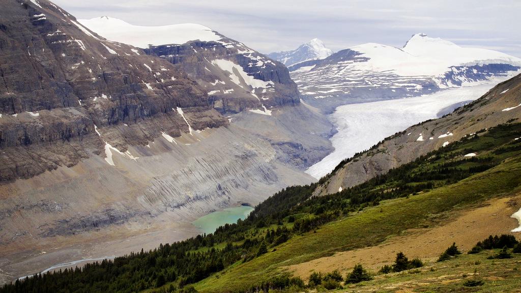 Parker ridge glacier
