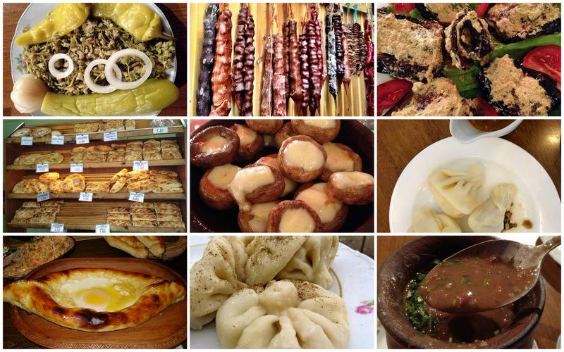 vegetarian georgian food