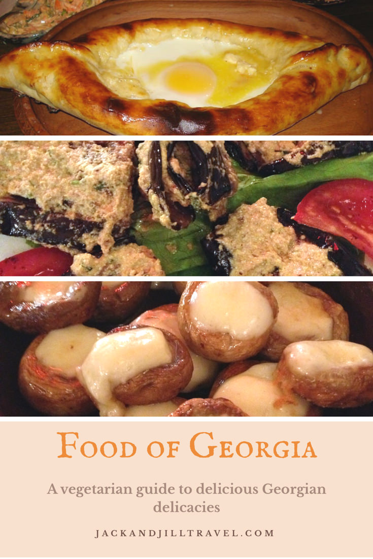 Vegetarian Guide to The Food of Georgia