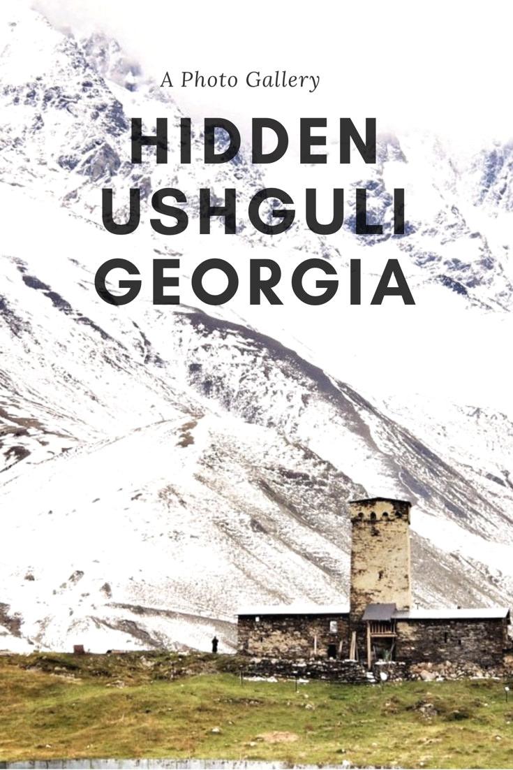 A photo gallery from Ushguli, Georgia