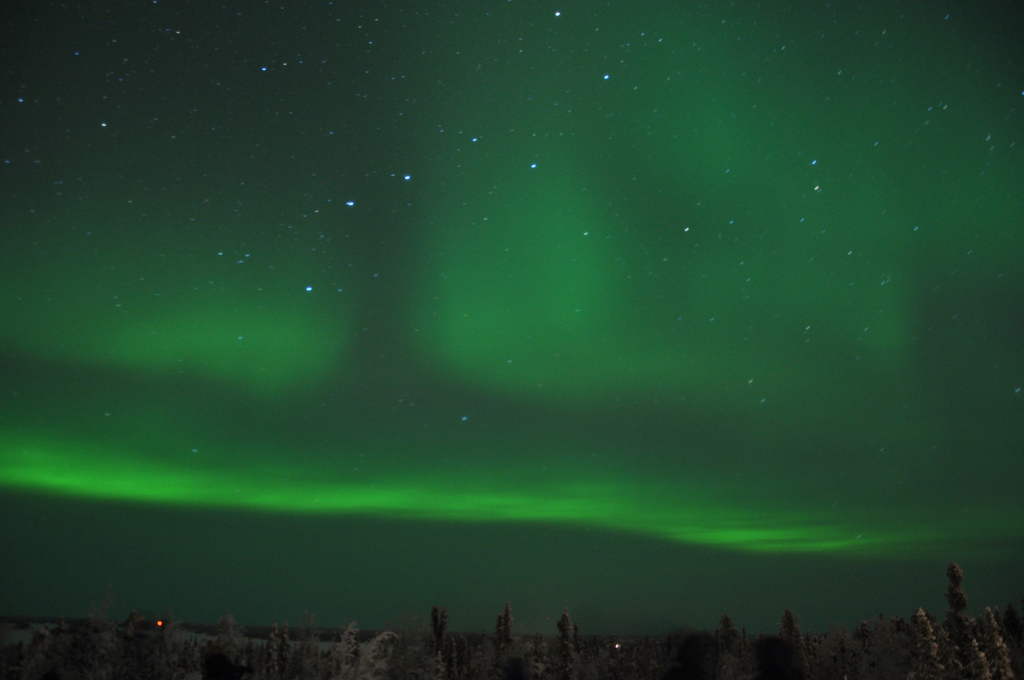 Chasing the Northern Lights in Yellowknife
