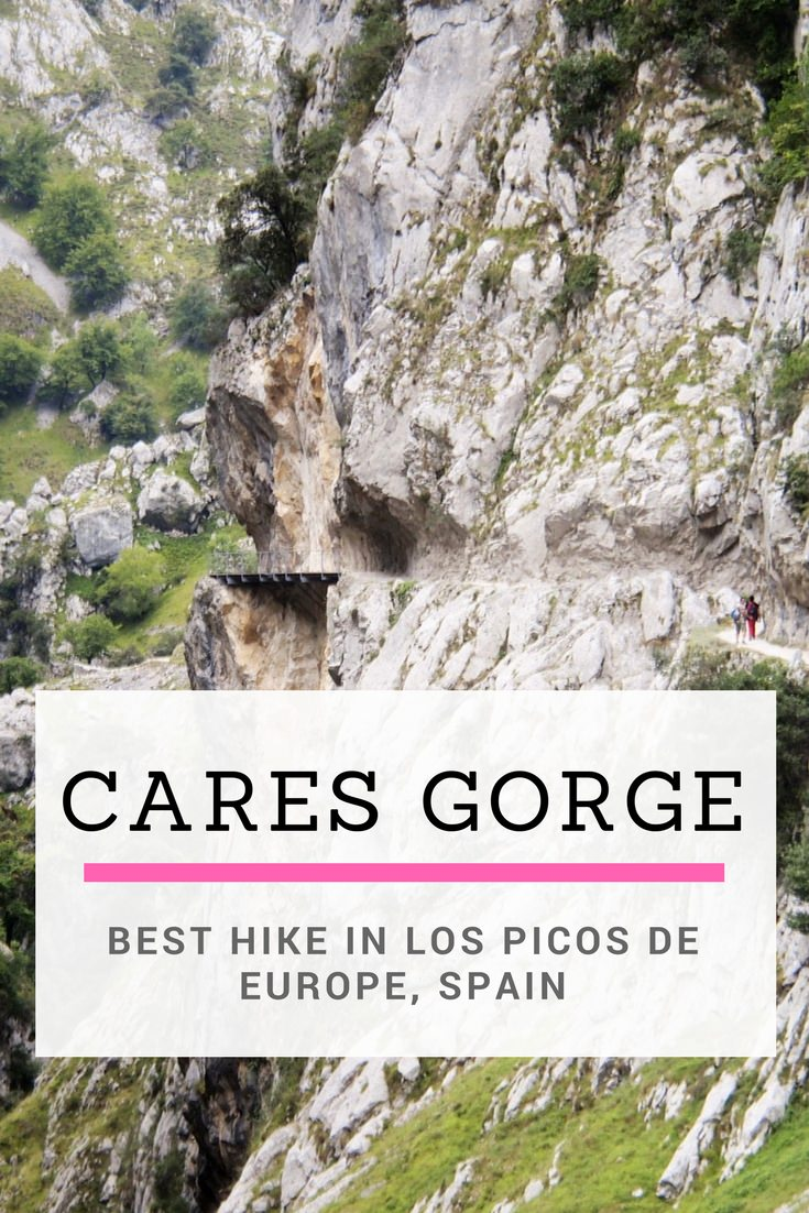 Cares Gorge of Los Picos de Europa, the best hike in northern Spain
