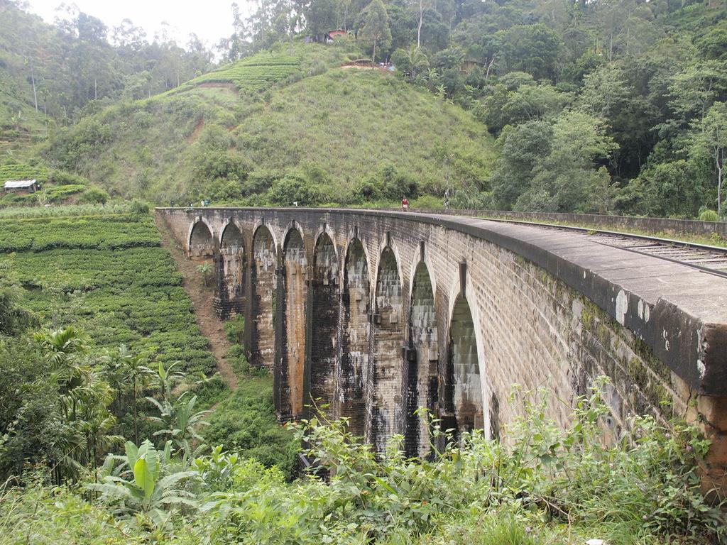 The Nine Arch bridge in Ella