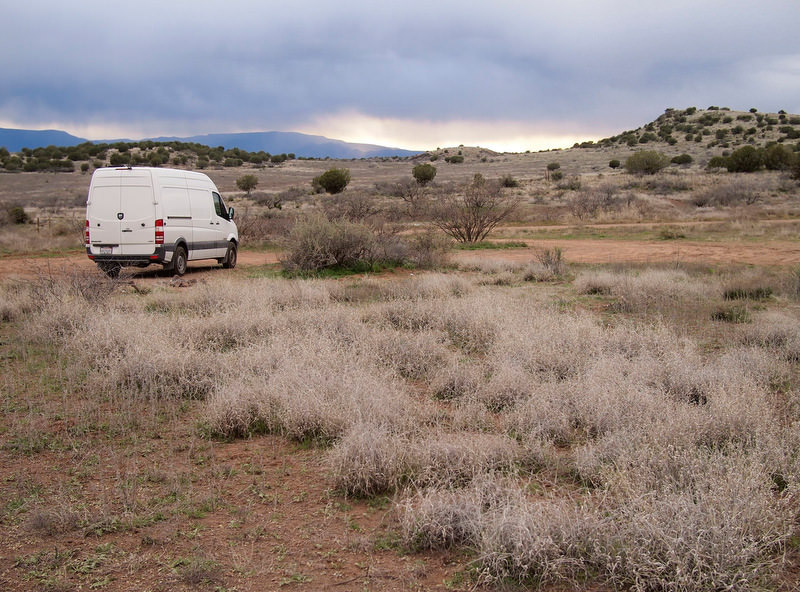 Boondocking in Sedona