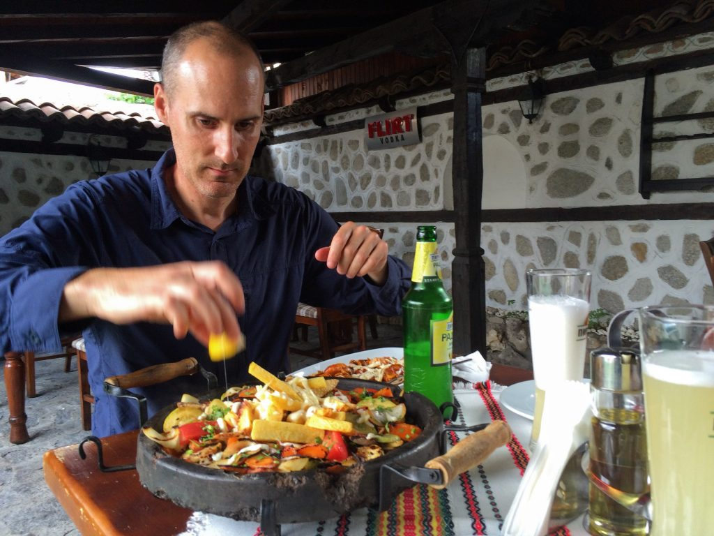 Grilling is big in Bulgaria