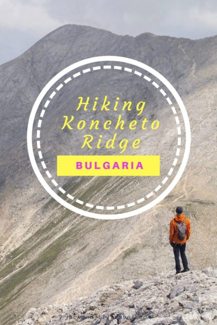 Hiking the Koncheto in Bulgaria Pirin National Park