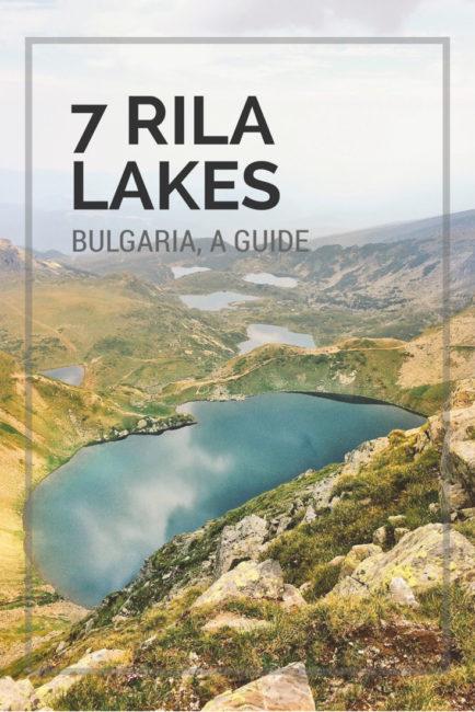 7 rila lakes hike