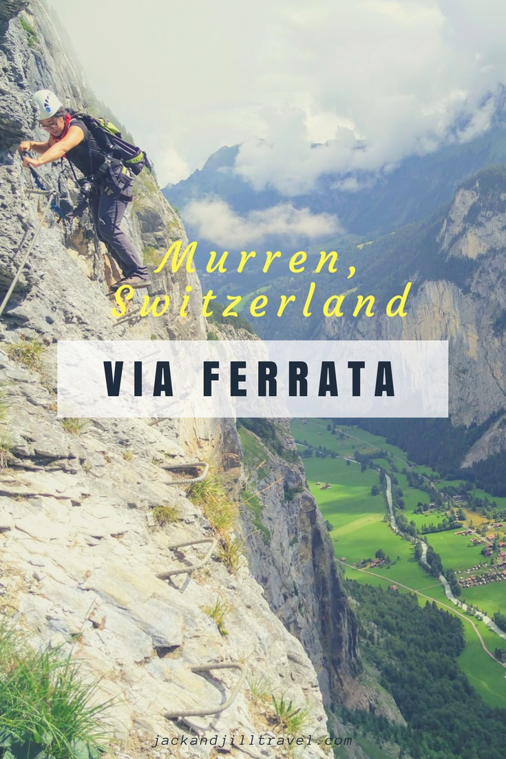 Murren via ferrata, Switzerland