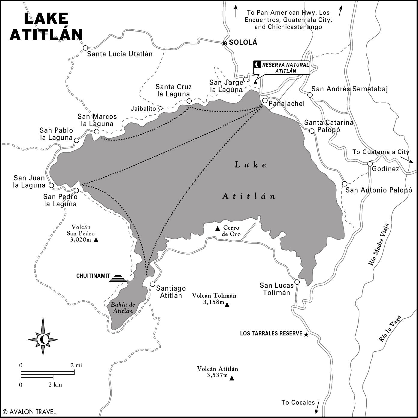 Lake-Atitlan-Map