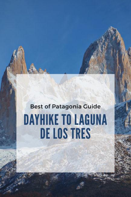 Dayhike to Laguna de Los Tres in Patagonia