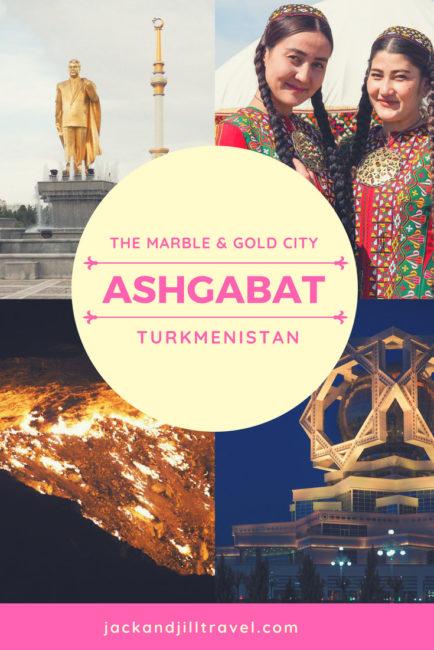 Why Ashgabat is the weirdest city I've visited.
