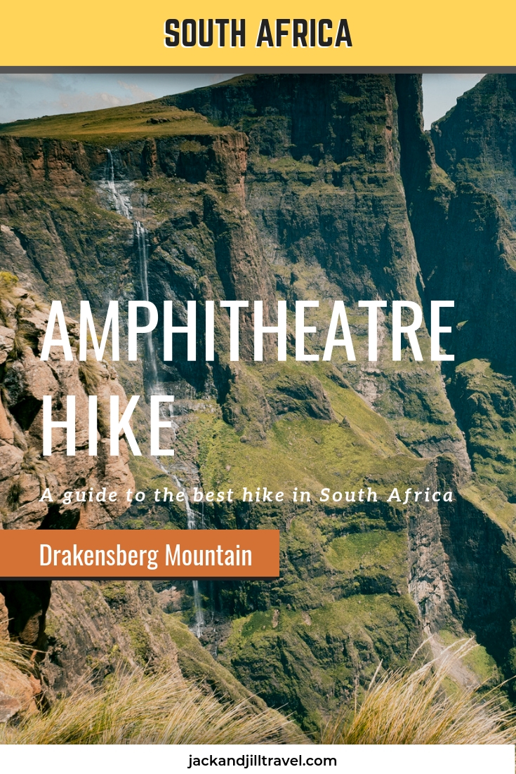 amphitheatre hike drakensberg south africa