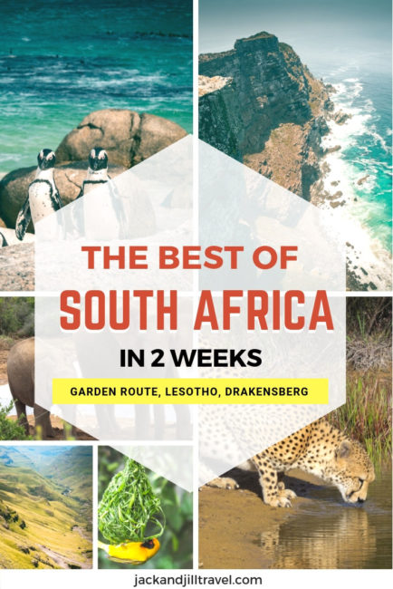 2 weeks south Africa itinerary