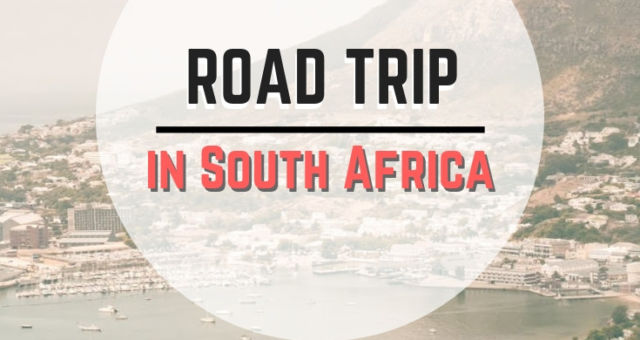 South Africa road trip