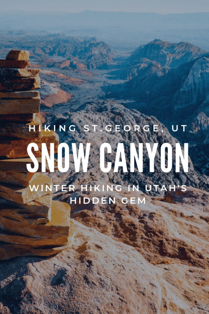st george, snow canyon state park utah