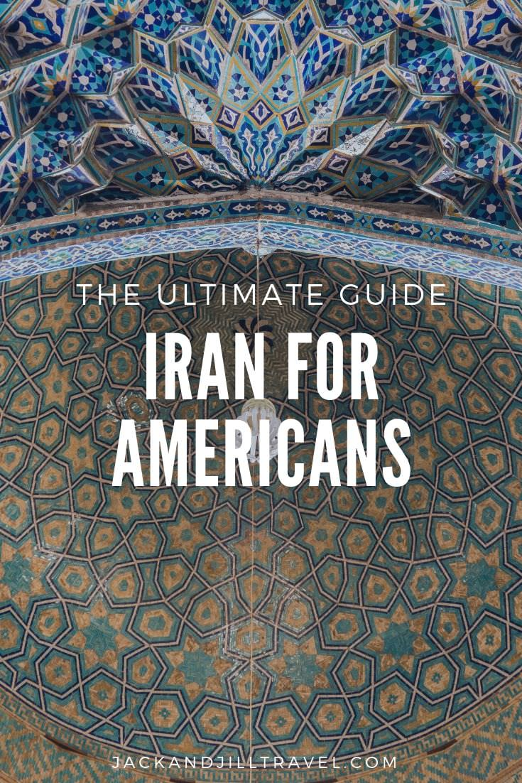 can americans visit iran