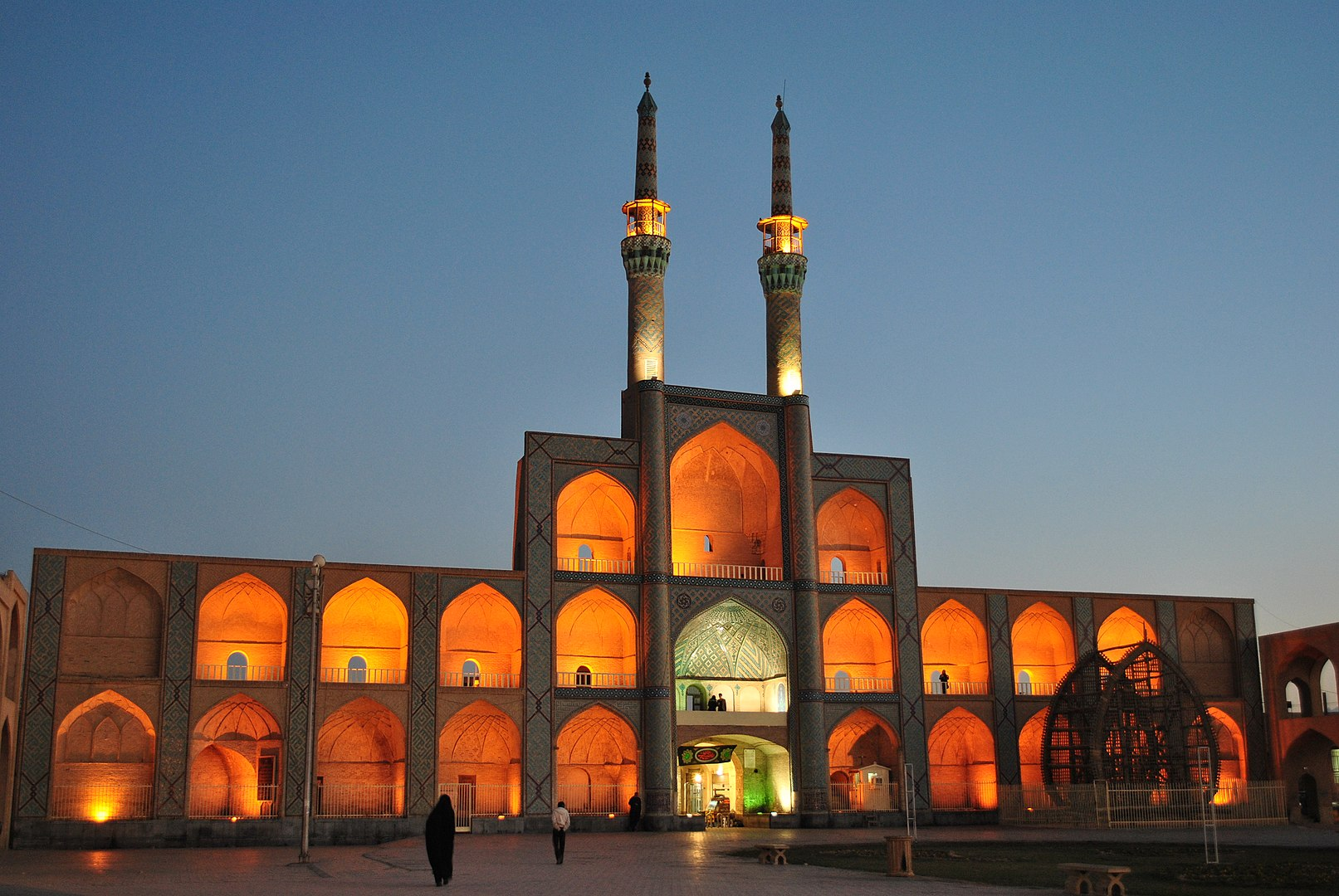Amir Chakhmaq Complex, one of Iran's highlights