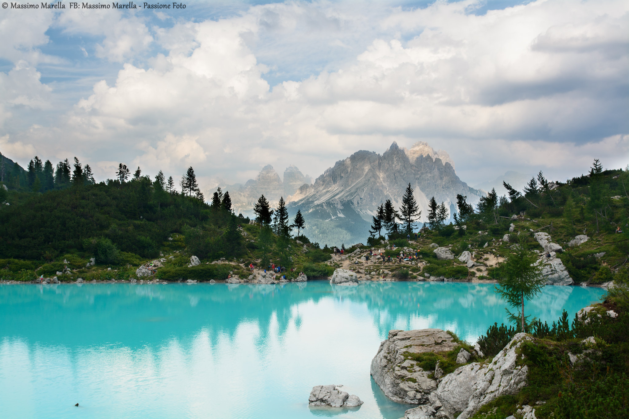 Sorapis Lake, you need to include this in your Dolomite itinerary